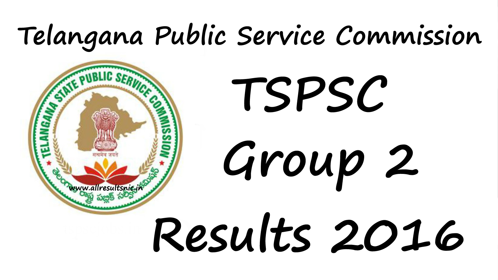 TSPSC Results
